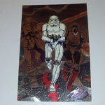 Star Wars Galaxy 1994 series 2 Topps #8 etched foil card Stormtrooper Trading card